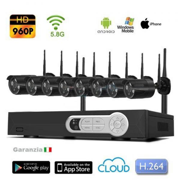 Kit videosorveglianza wireless